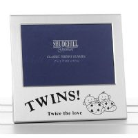 Twins! Twice the Love Twins Photo Frame